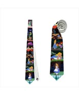 necktie tie alice wonderland fairy tale storyteller clown animator - $19.90