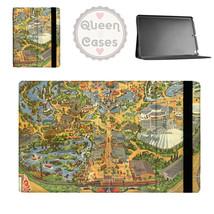 Disneyland Vintage Map Tablet Flip Case - $29.99+