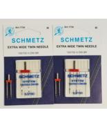Schmetz Twin Needle Wide 8.0 - $10.50