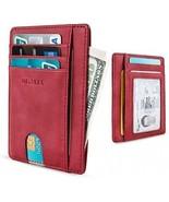 MR. YLLS Slim Thin Minimalist Front Pocket RFID Blocking Leather Wallet... - $30.40