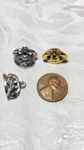 DESKTOP ROTARY TELEPHONE FINE PEWTER CHARM image 2