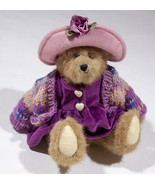 "BOYDS BEAR ARCHIVE COLLECTION LADY BOYD JOINTED 9"" TEDDY DRESS SWEATER HAT - $12.61"