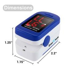 Zacurate® 500BL Sporting/Aviation Fingertip Pulse Oximeter Blood Oxygen Saturati image 2