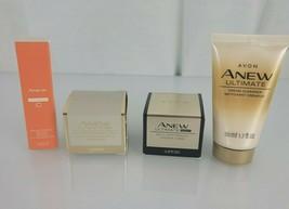 Avon Anew Ultimate Day Night Multi Performance Cream Cleanser Vitamin C Serum - $14.84