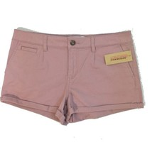NWT American Rag Chino Shorts Jrs Sz 9 Rose Flat Front Shortie New - $14.99
