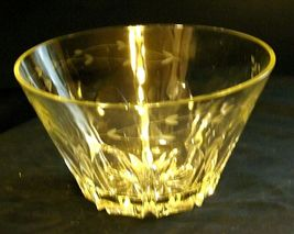 Etched Glass Berry Salad Bowl AA19-LD11939 Vintage image 9