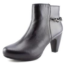 NEW! Easy Spirit Parilynn Women Shoes Black Leather Ankle Bootie Sz 9M - $27.99