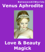 kmv Powerful Goddess Love Beauty Spell Youth Be Sexy Betweenallworlds Ri... - $99.00