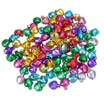 500 Pieces Craft Bells Small/Mini Jingle Loose Beads Bell Multicolor - $15.15