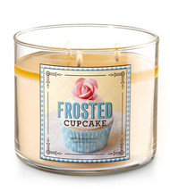 Bath & Body Works Frosted Cupcake Three Wick 14.5 Ounces Scented Candle - $23.95