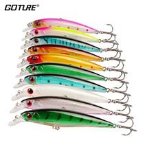 Goture® 10pcs/lot Wobblers Set Fishing Lure China Artificial Bait Minnow... - $16.47