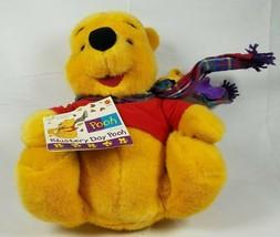 "Disney Winnie the Pooh Plush Stuffed Animal Blustery Day Fall Autumn 12"" - $19.79"