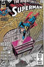The Adventures of Superman Comic Book #483 DC Comics 1991 NEAR MINT NEW ... - $3.50