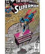 The Adventures of Superman Comic Book #483 DC Comics 1991 NEAR MINT NEW ... - $3.50