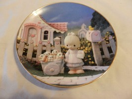 God Loveth A Cheerful Giver Precious Moments Collector Plate Sam Butcher (H1) - $22.27