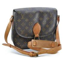 LOUIS VUITTON Monogram Saint Cloud GM Shoulder Bag Auth sa653 No Sticky - $540.00