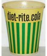 Vintage paper cup DIET RITE COLA 4oz size unused new old stock n-mint+ c... - $8.99