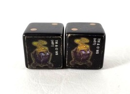 Pair of Dice 2001 Harry Potter Diagon Alley Board Game Pieces Die Warner... - $9.99