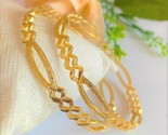 AARTISAI Gold Plated Artificial Cuff  Bangles and Bracelet for Women and Girls - £24.56 GBP - £31.02 GBP