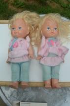 """Lot of 2 Lil Miss Makeup 13"""" Doll Original Jumper Shirt Vintage 1977~198... - $28.01"""