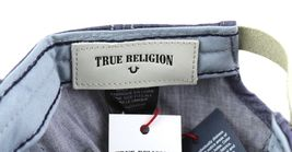 True Religion Men's Vintage Distressed Cotton Horseshoe Trucker Hat Cap TR2095 image 14