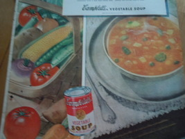 Vintage Campbell's Vegetable Soup Print Magazine Advertisement 1945 image 3