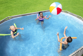 """Coleman Power Steel 16' x 10' x 48"""" Oval Above Ground Pool Set - Ready to Ship image 4"""