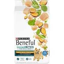 Purina Beneful Small Breed Dry Dog Food, IncrediBites With Real Chicken ... - $39.55