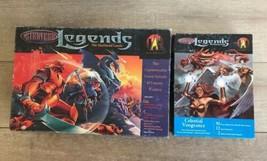 Stratego Legends The Shattered Lands &  Celestial Vengeance Hasbro Board... - $44.54