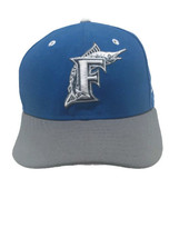 Florida Marlins Hat Wool Blend 7 1/2 Fitted Cap Blue Gray New Era 59Fifty - ₹1,343.75 INR