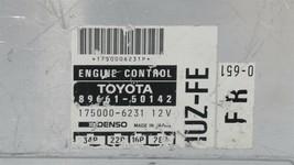 Lexus Toyota 1UZ-FE Engine Control Unit Module ECU ECM PCM 89661-50142 image 2