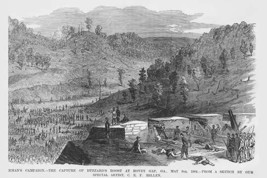 Sherman Capture of Buzzard's Roost at Hovey Gap, Georgia - $19.97
