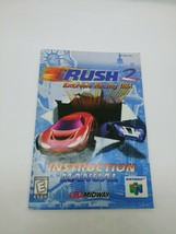 Rush 2 Extreme Racing USA N64 Nintendo 64 Instruction Manual Only - $8.59