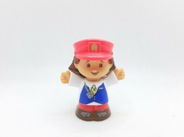 Fisher Price Little People Friendly Passengers Train Conductor Kathy  - $11.39