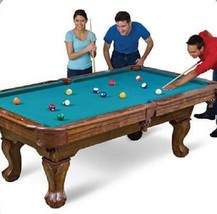 """Billiard Pool Table Game Set 87"""" Full Accessories Claw Leg Wood Traditional - $570.17"""