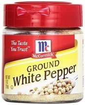 McCormick Ground White Pepper, 1 oz - $9.85