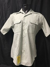 Army Mens Dress Shirt Lot Of 6 Size 15, 16, 16.5 DSCP Garrison Collection KG - $34.65