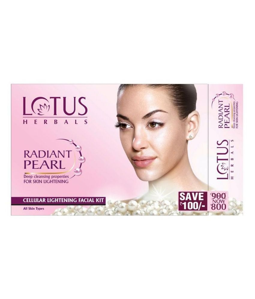 Lotus Herbal skin Care Facial Kit Choose From 6