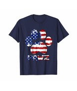 Dog Fashion - Dog Pawz US Flag T-Shirt Gift For 4th July Men - $19.95+