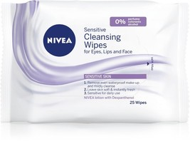 Nivea Sensitive Cleansing Wipes 25 pcs image 4
