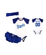 Personalized Baseball Onesie Infant Bodysuit Girls Jersey Outfit - $24.95+