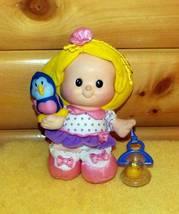 "F-P Little People Plush Giggling 9"" Sarah Lynn & Tweeting BlueBird with ... - $8.79"