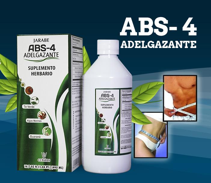 Jarabe ABS-4 Adelgazante Suplemento Herbario