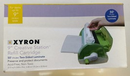 "Xyron 9"" Wide 50' Two-Sided Laminate Creative Station Refill Cartridge D... - $18.99"