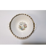 Cronin China Lugged Cereal Bowl Gold Flutes, Flowers & Birds COI3 Minerv... - $27.99