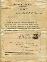 USA American RED CROSS SC# 702 FDC First Day Cover w Letter WASHINGTON 1931 - $21.60