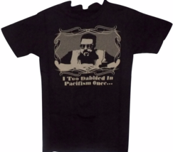 Big Lebowski Black Pacifism Movie T-Shirt - $14.91