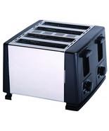 Brentwood 4 Slice Toaster (Black) - $43.89