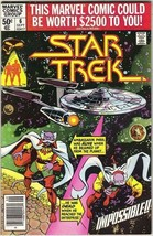 Star Trek: The Motion Picture Comic Book #6, Marvel 1980 VERY FINE/NEAR ... - $9.74