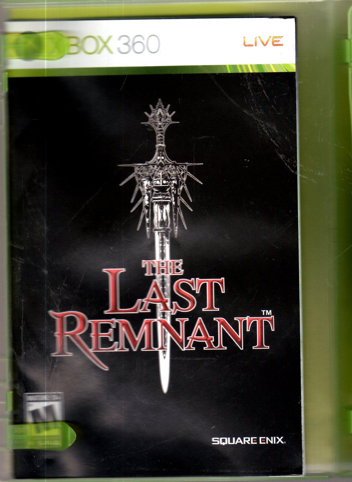 XBox 360 - The Last Reminant